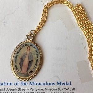 Jewelry - Miraculous Metal A Call to Prayer Holiness Service